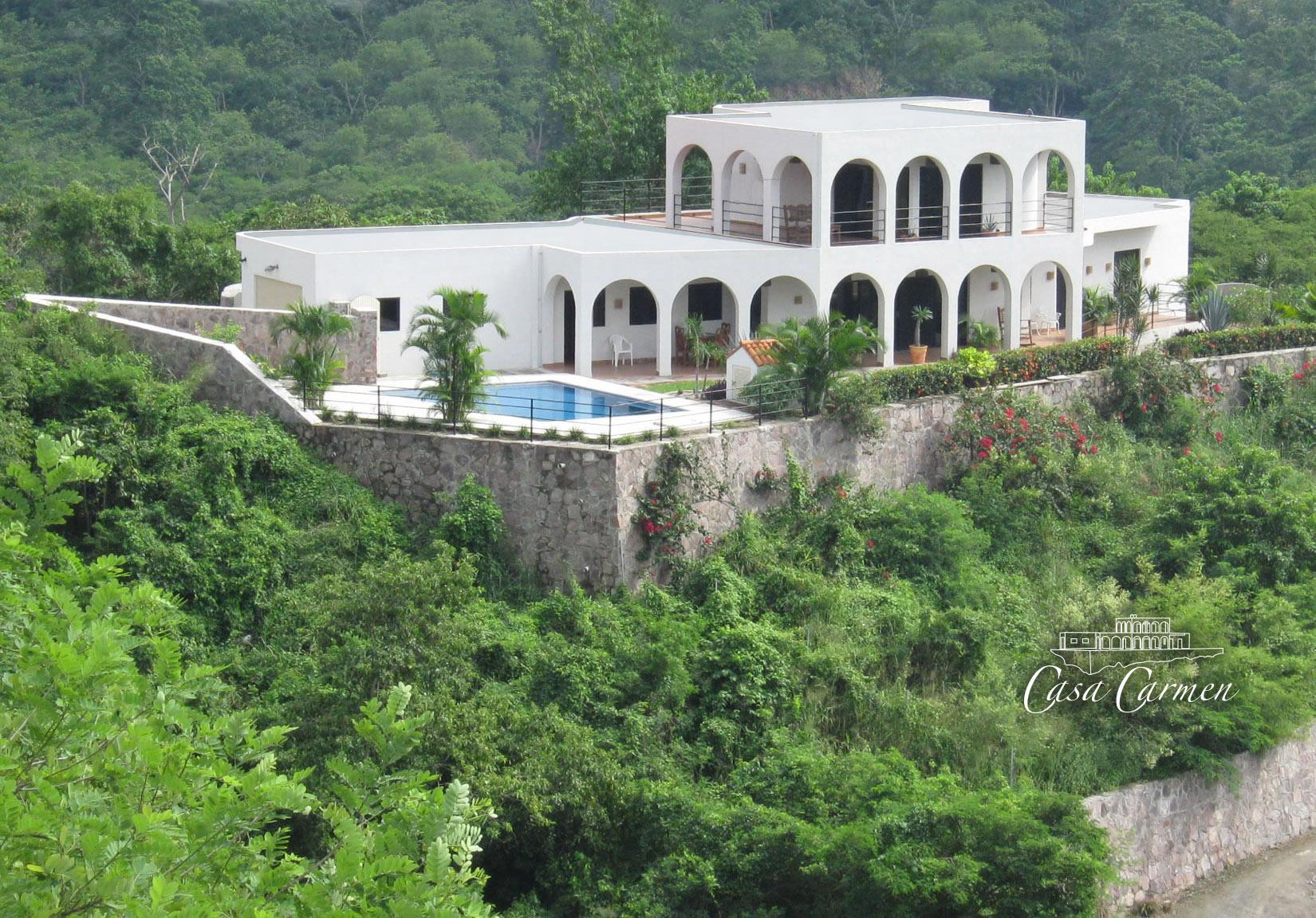 Casa Carmen Private Home In La Manzanilla Jalisco Mexico
